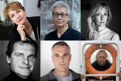 Members of the Jury of the International photojournalism festival's 'Vilnius Photo Circle' competition 'The Circle of Life'